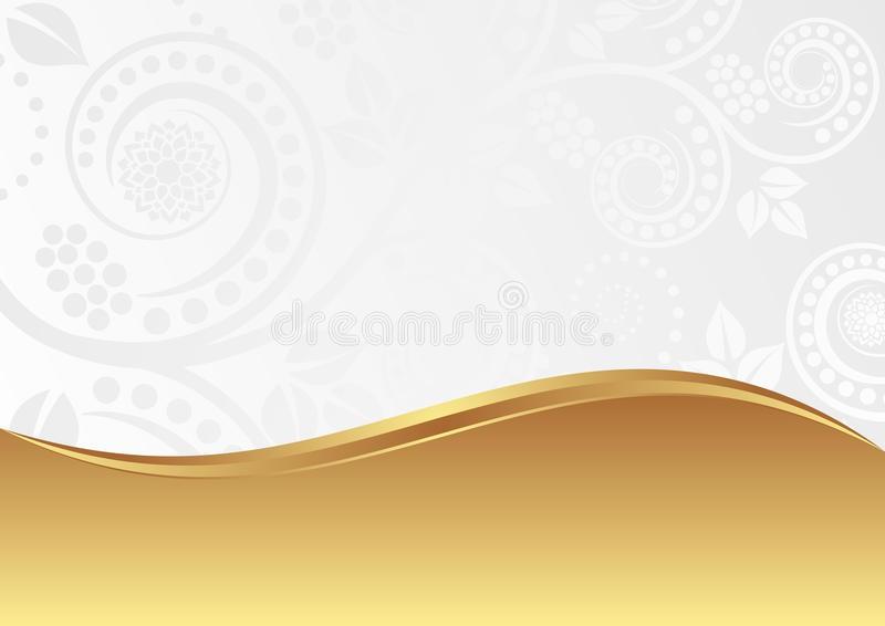 Bílo-zlatá