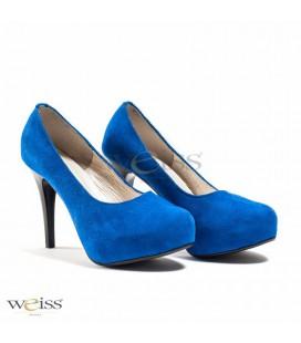 Luxusní dámské lodičky - WLF-425-blue-S
