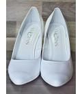 Luxusní bílé svatební lodičky-WL-806-BI
