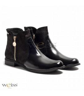 Kotníkové boty - WKN-465-BL