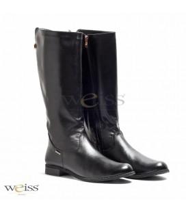 Kozačky černé - WKN-599-BL