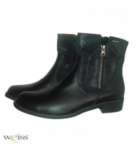 Luxusní kotníkové boty - WK-723-BL