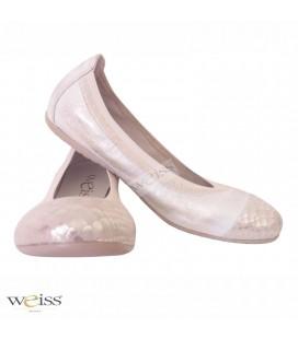 Kožené baleríny - WBR-606-Z