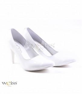 Elegantní bílé lodičky