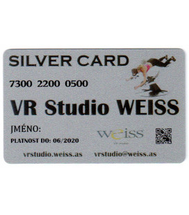 Weiss VR Studio: Silver Card