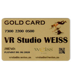 Weiss VR Studio: Gold Card