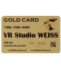 Weiss VR Studio: Gold Card