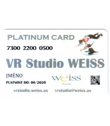Weiss VR Studio: Platinum Card