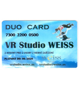 Weiss VR Studio: Duo Card