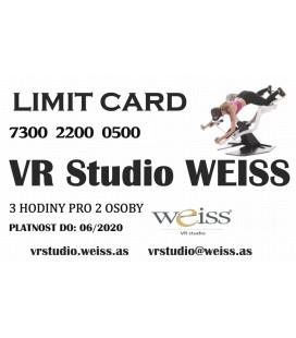Weiss VR Studio: Limit Card
