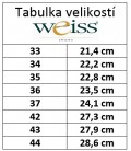 Luxusní kožené tenisky vysoké - WTV-970-WZ